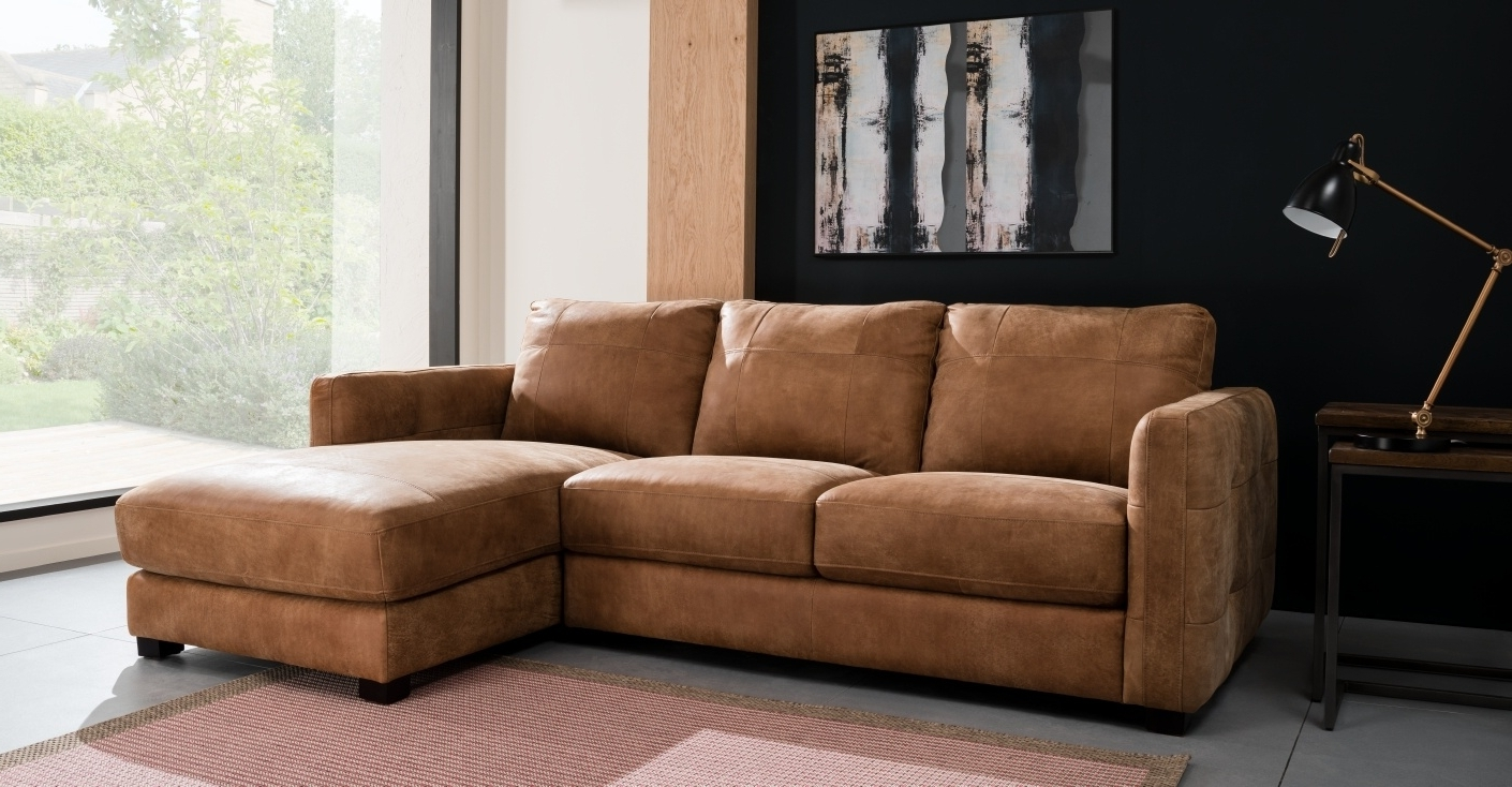 Featured Photo of Leather Chaise Sofas