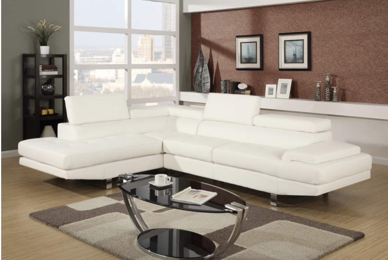 100X80 Sectional Sofas Intended For Fashionable 75 Modern Sectional Sofas For Small Spaces (2018) (View 9 of 15)
