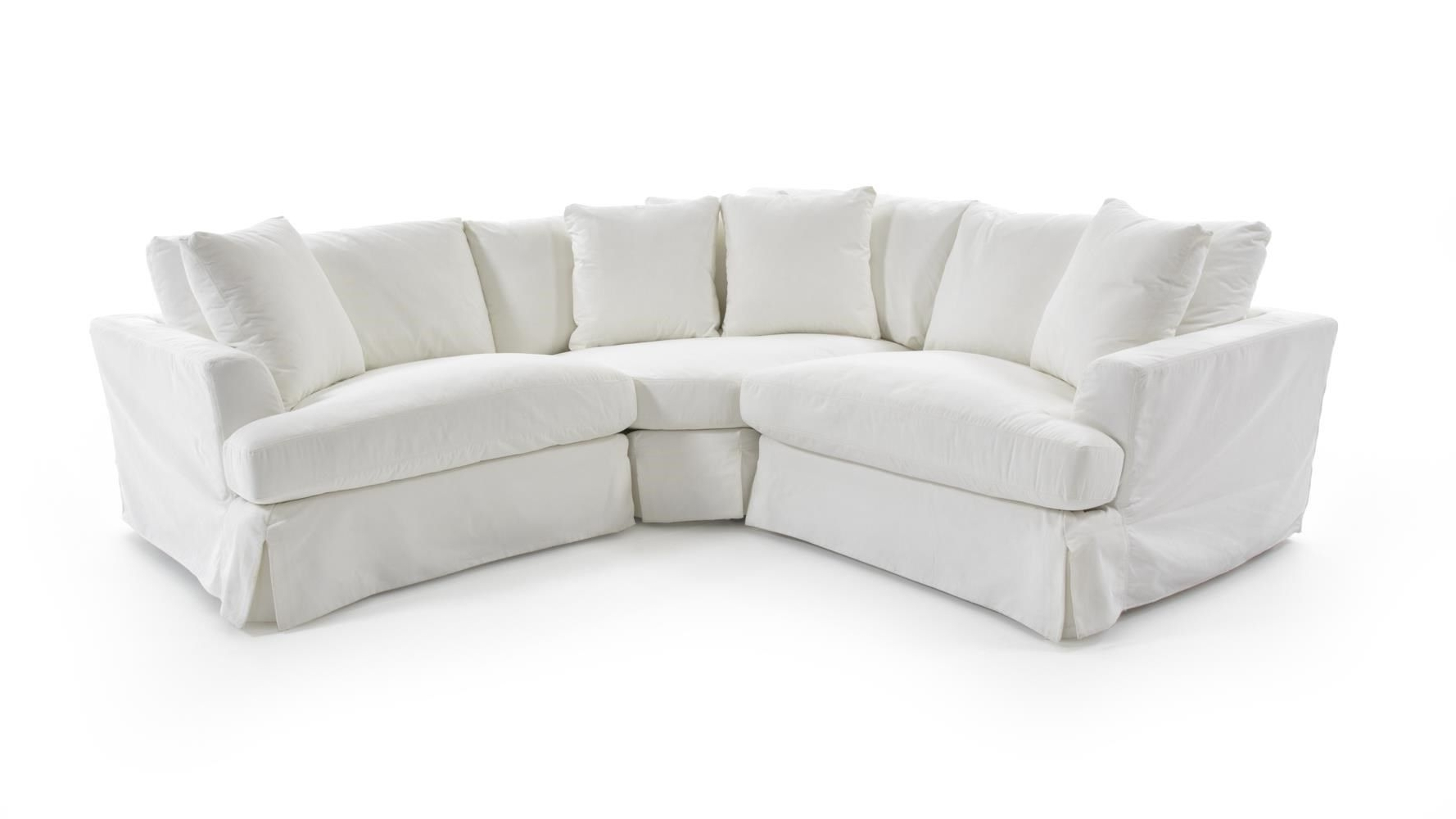 1300 Three Piece Corner Sectional Sofa With Slipcoversynergy With Most Recent Kelowna Sectional Sofas (View 1 of 15)
