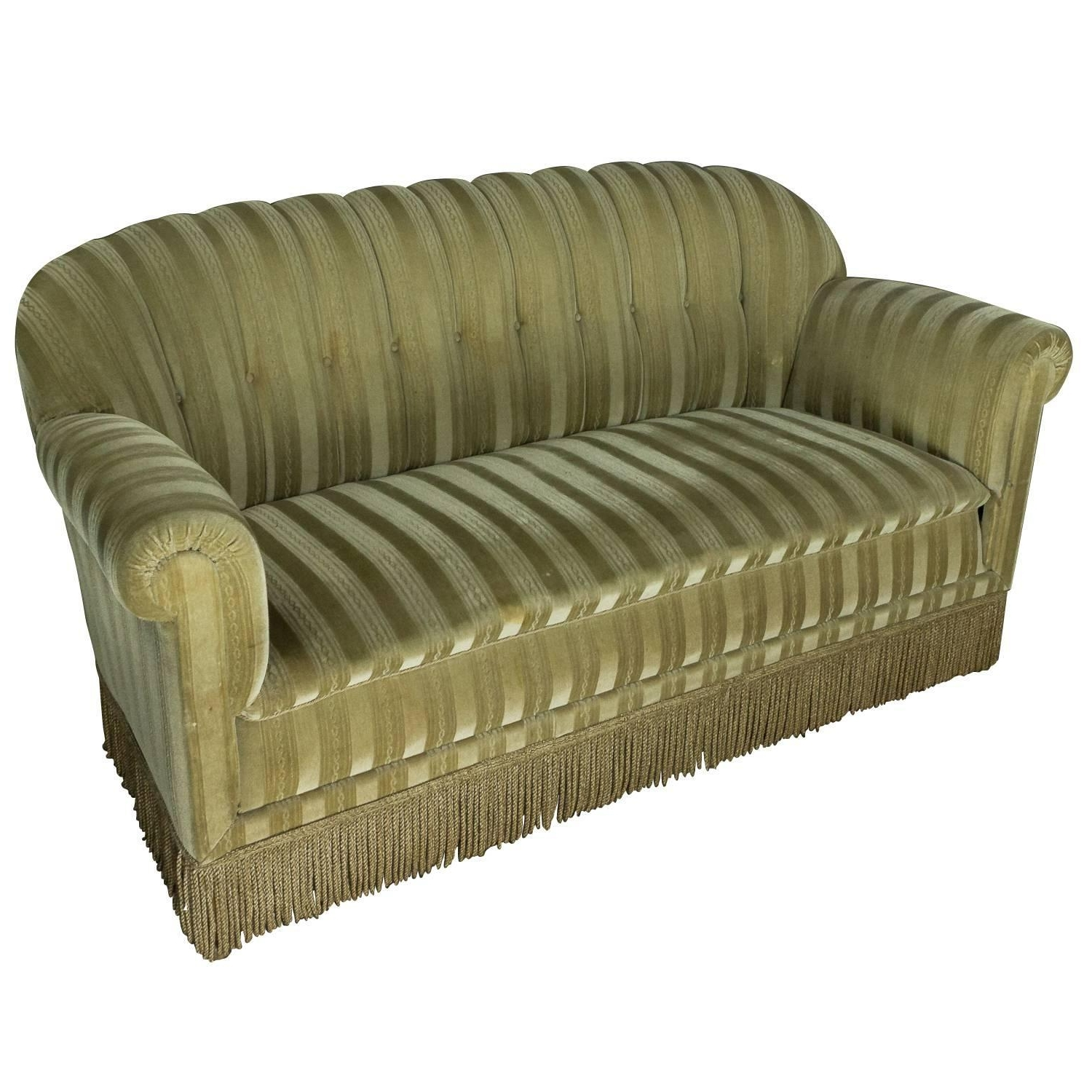 1930S Mohair Sofa At 1Stdibs With Regard To Most Popular 1930S Sofas (Gallery 1 of 15)