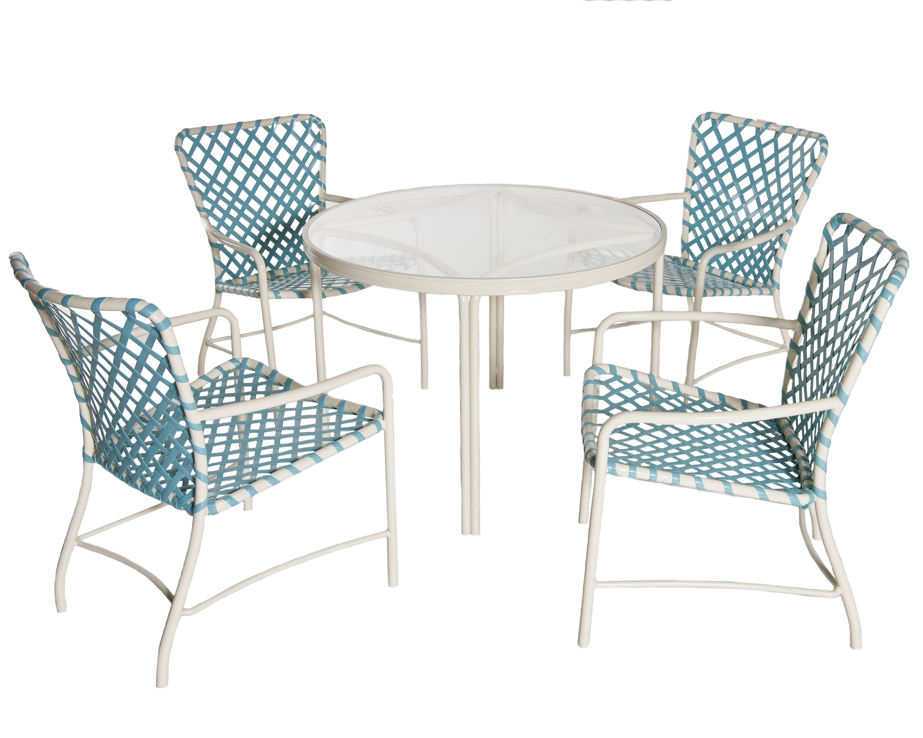 1960S Iconic Outdoor Furniture Tubular Aluminum With Vinyl Within Preferred Brown Jordan Chaises (View 1 of 15)