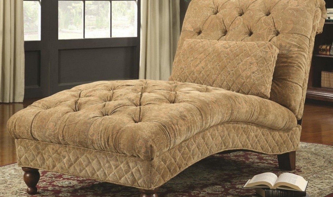2 Person Indoor Chaise Lounges Intended For Most Recent Chair : 2 Person Lounge Chair Satisfying 2 Person Chaise Lounge (View 14 of 15)