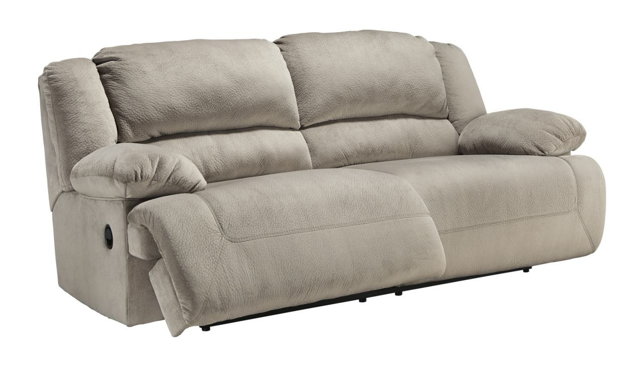 2 Seat Recliner Sofas In Latest 2 Seat Reclining Sofa In Granite (View 5 of 15)