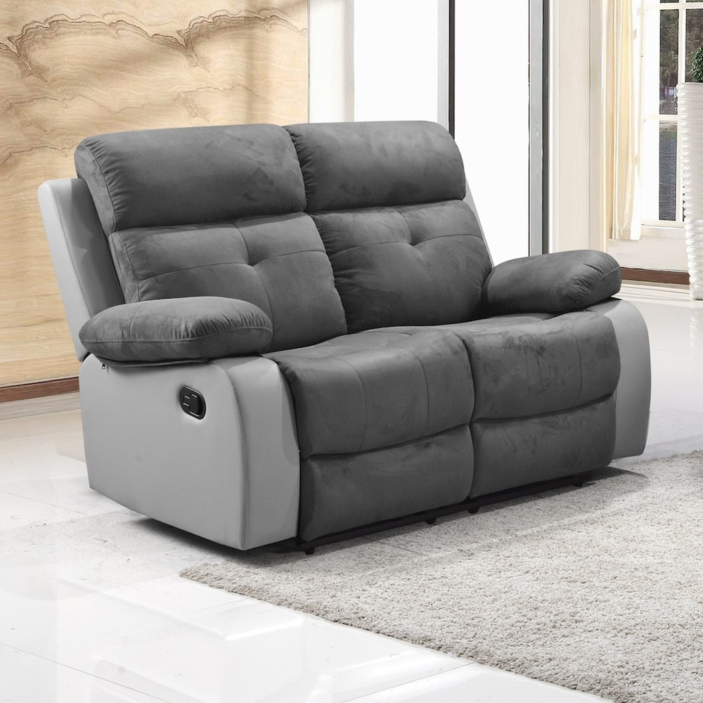 Explore Photos Of 2 Seater Recliner Leather Sofas Showing 14 Of 15