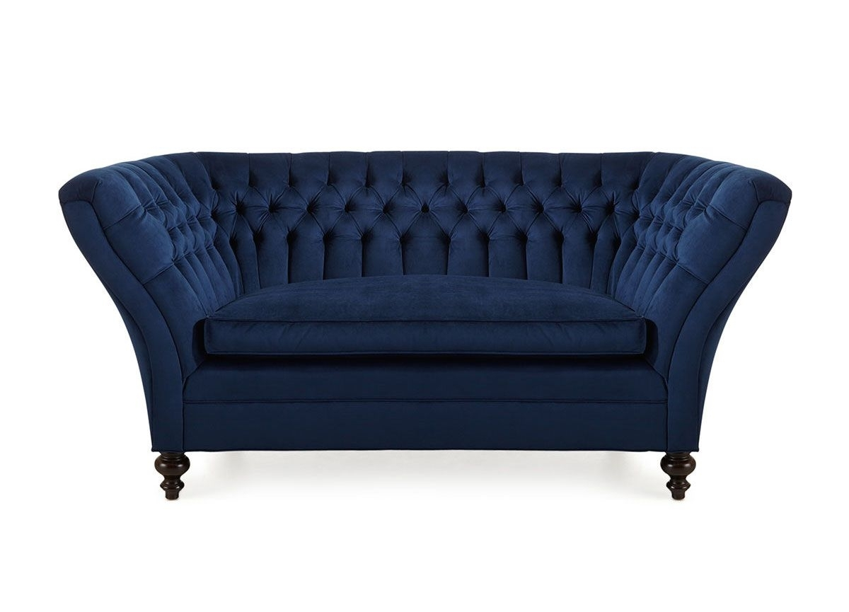 Featured Photo of Blue Sofa Chairs
