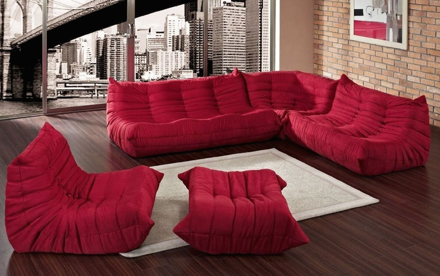 20 Types Of Modular Sectional Sofas Intended For Current Sectional Sofas That Can Be Rearranged (View 11 of 15)