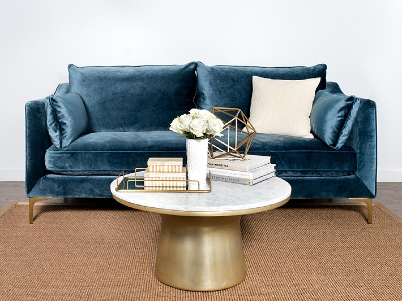 Featured Photo of Velvet Sofas