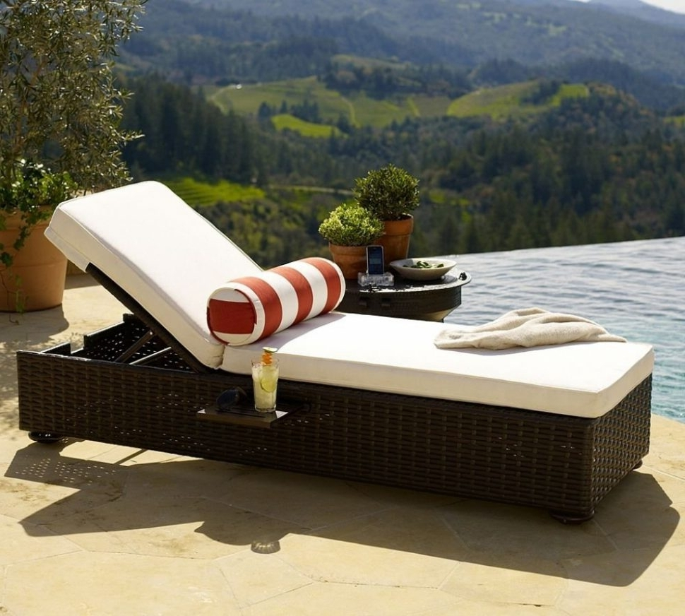2017 Adelaide Chaise Lounge Chairs With Regard To Lounge Chair : Pool Recliners Loungers Outdoor Mesh Chaise Lounge (View 1 of 15)