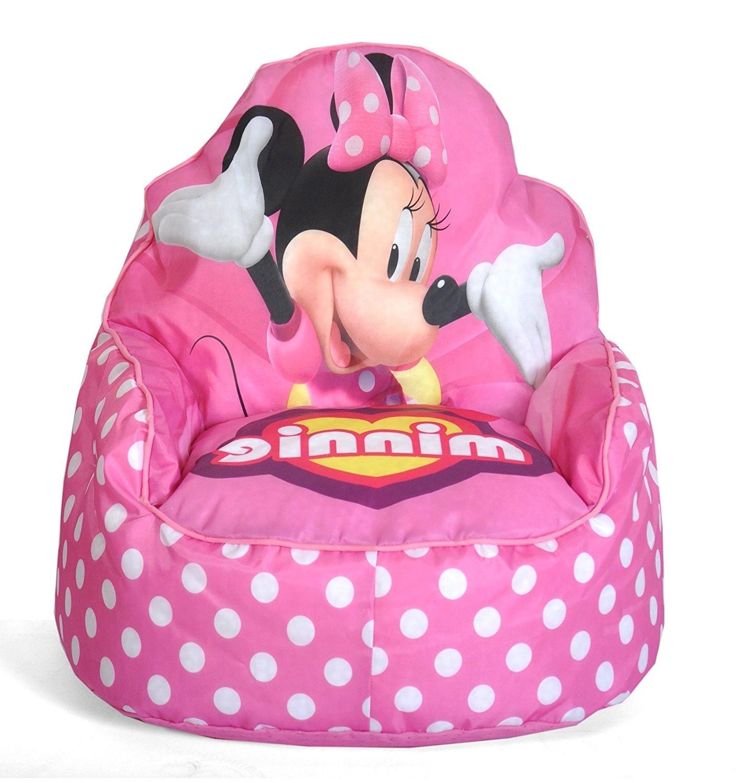 2017 Amazon: Disney Minnie Mouse Toddler Bean Bag Sofa Chair: Toys Throughout Disney Sofa Chairs (View 6 of 15)