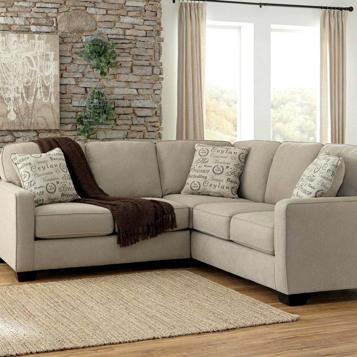 2017 Ashley Furniture Sectional Sofas — Cabinets, Beds, Sofas And With 2 Seat Sectional Sofas (View 14 of 15)