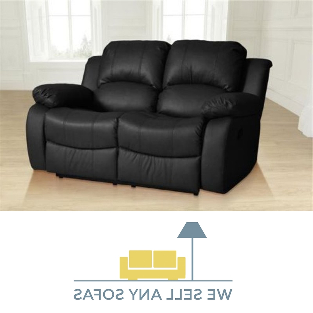 2017 Black 2 Seater Sofas Throughout We Sell Any Sofas (View 15 of 15)