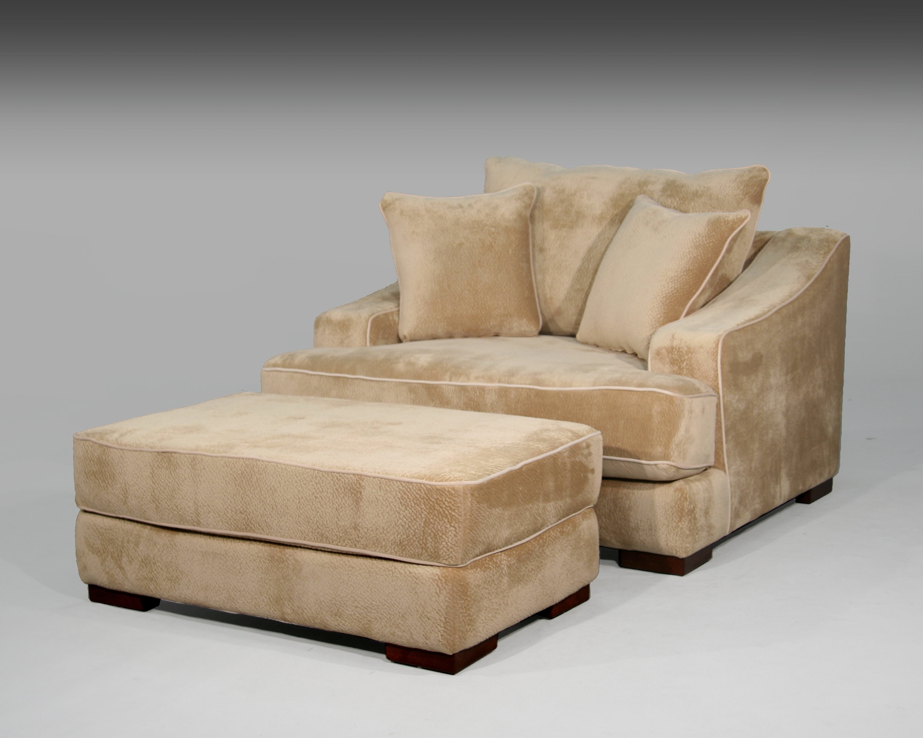 2017 Chair And A Half And Ottoman (View 8 of 15)