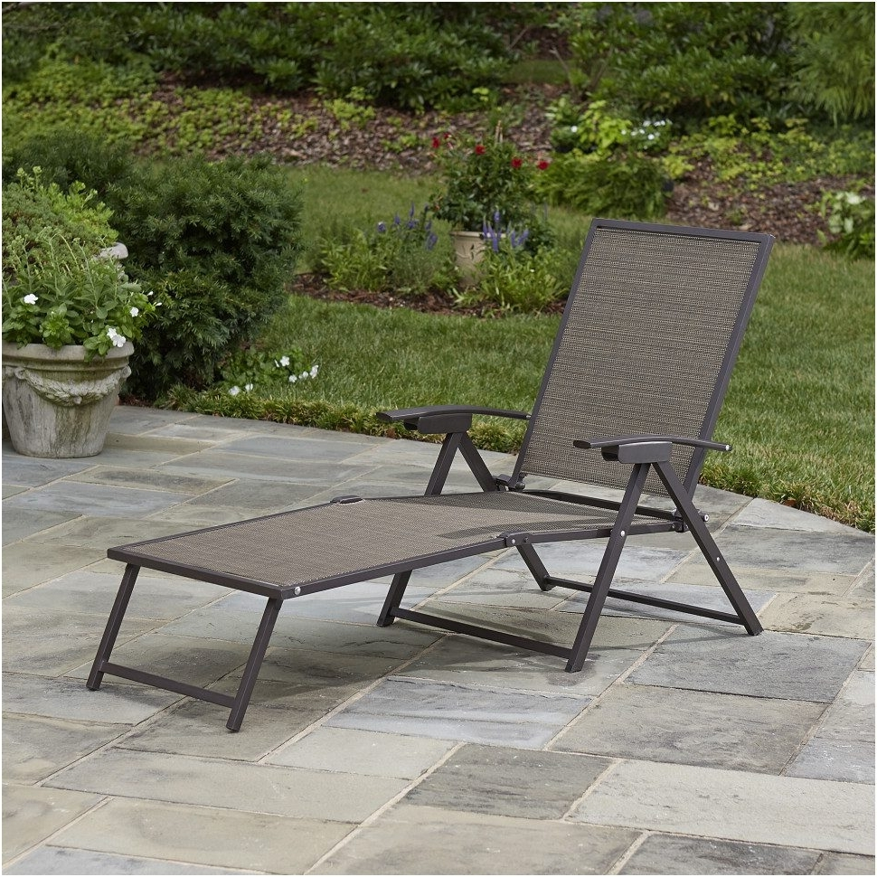 2017 Chaise Lawn Chairs Regarding Bedroom : Kmart Lawn Chairs Elegant Marion Chaise Lounge Outdoor (View 1 of 15)