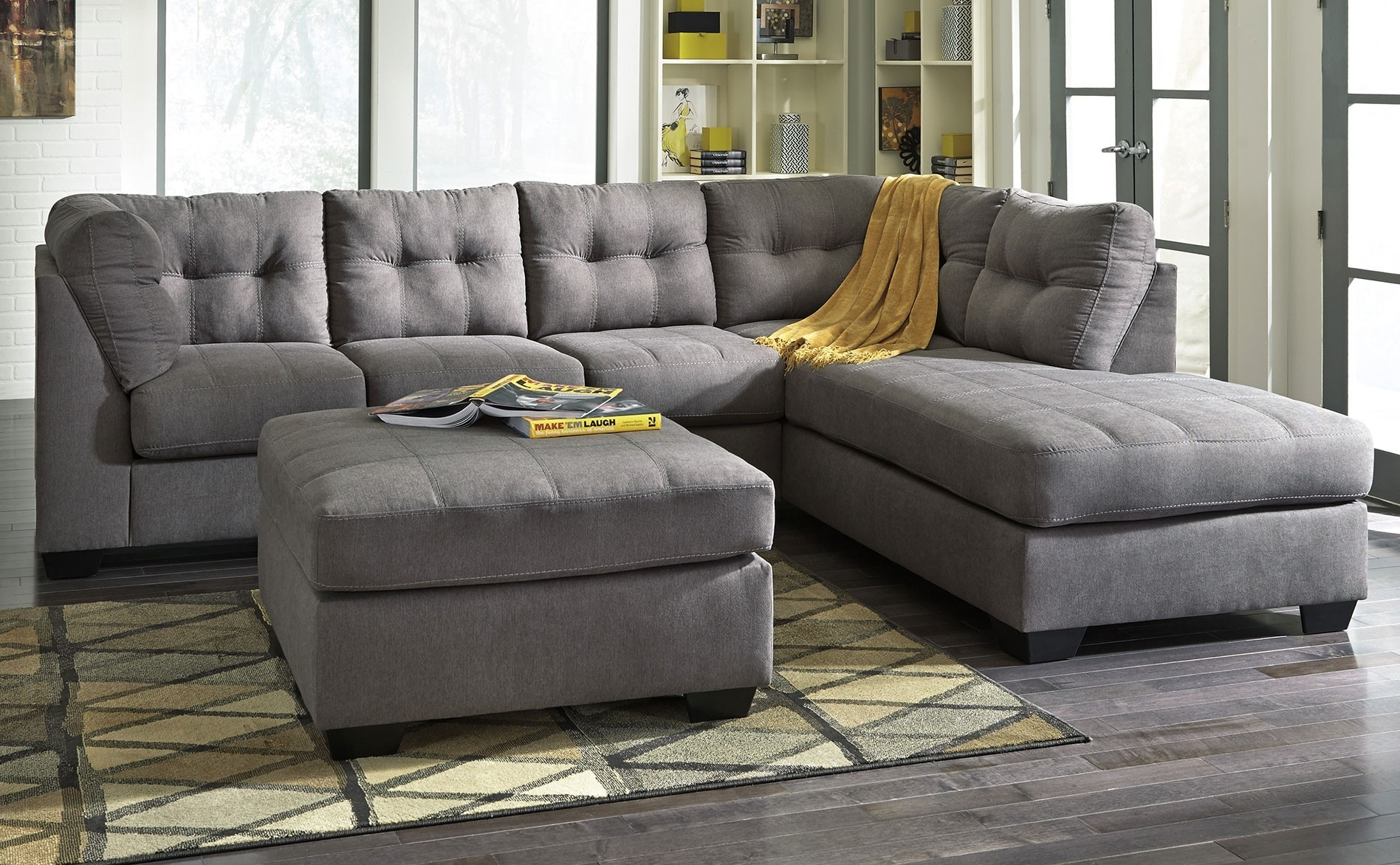2017 Chaise Lounge Sectionals Within Best Ideas Of Sectionals With Chaise Lounge Also Living Room Grey (View 1 of 15)