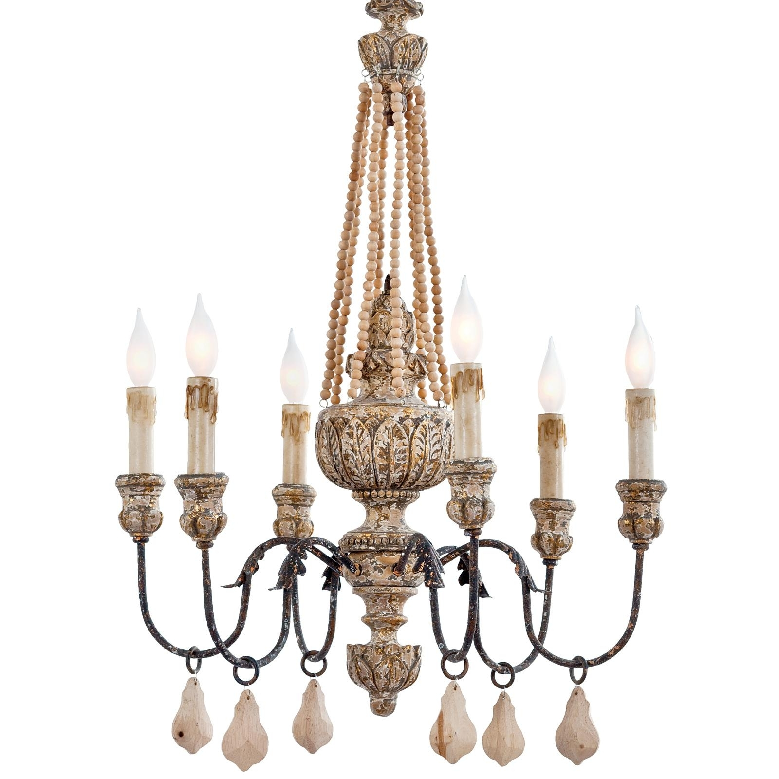 2017 Chandelier Accessories With Lighting: Elegant Wooden Chandeliers For Home Accessories Ideas With (View 4 of 15)
