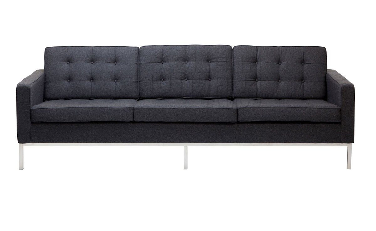 2017 Charming Knoll Replica Sofa #4 Replica Florence Knoll 3 Seater Intended For Florence Knoll 3 Seater Sofas (View 3 of 15)