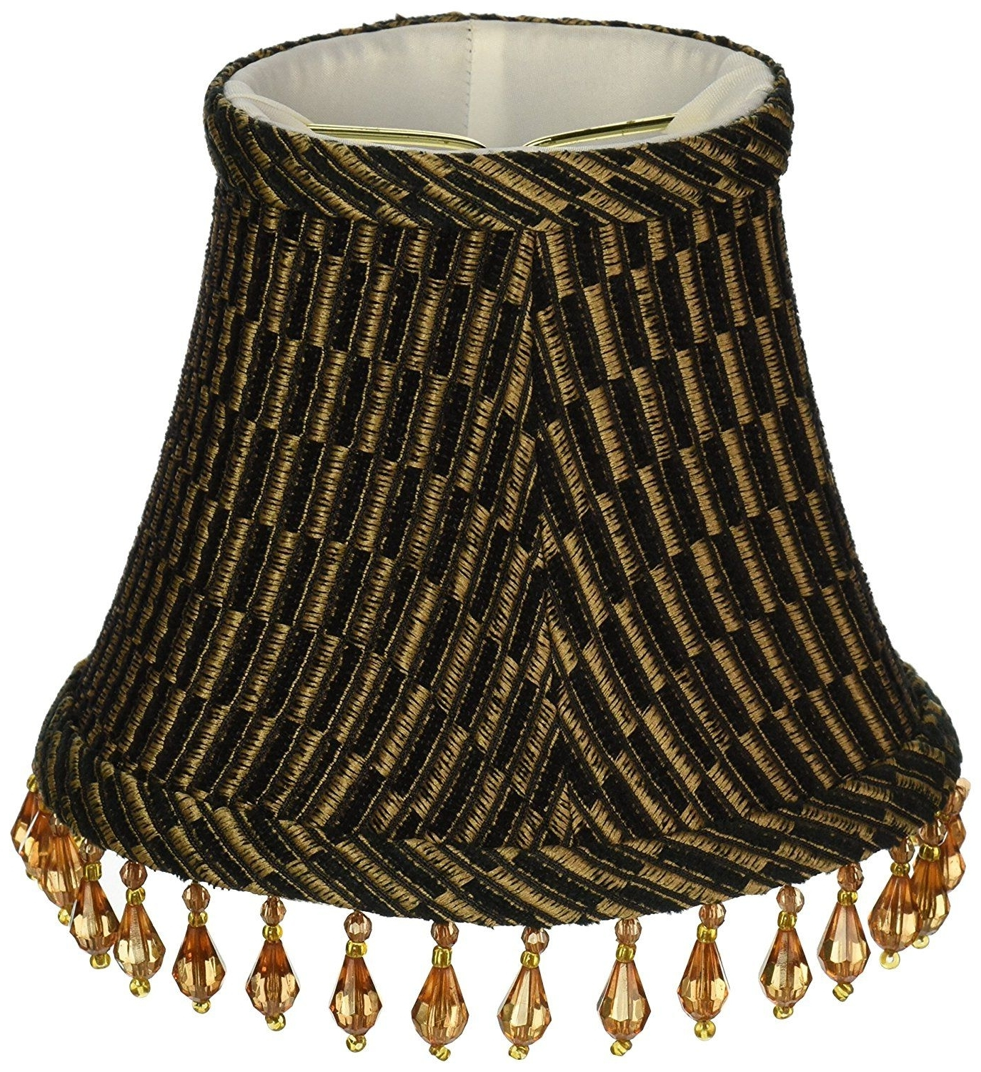 2017 Clip On Chandelier Lamp Shades In Lamp: Chandelier Lamp Shades Upgradelights Set Of 6 Barrel Shades  (View 1 of 15)