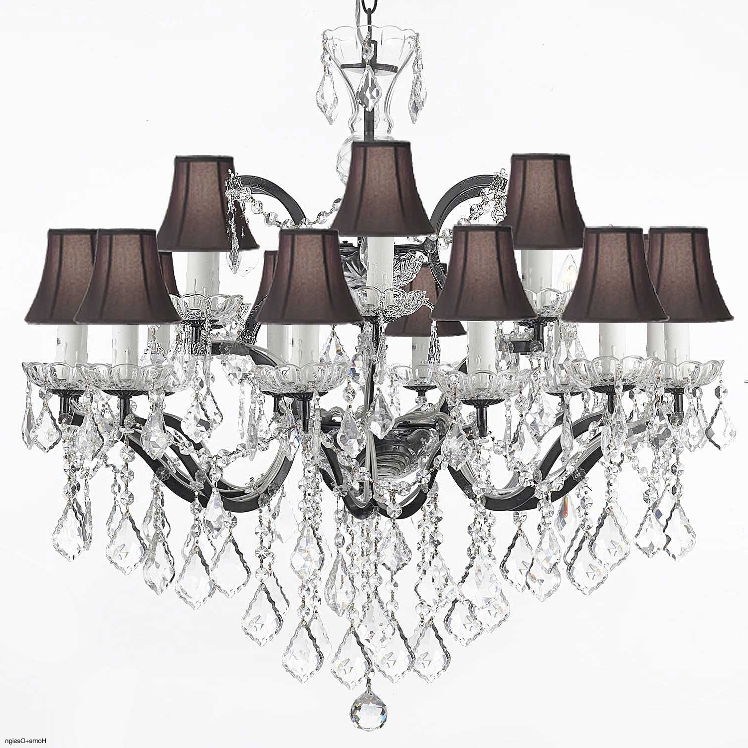 2017 Clip On Lamp Shades For Chandeliers Uk – Chandelier Designs With Clip On Chandeliers (View 7 of 15)