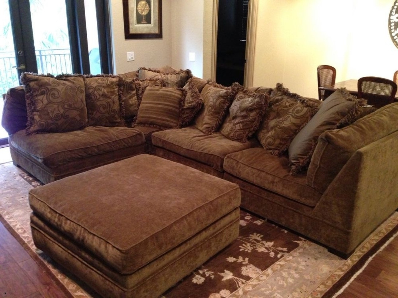 2017 Down Feather Sectional Sofas Regarding Excellent Reclining Sectional Sofas Microfiber 62 For Your Goose (View 1 of 15)