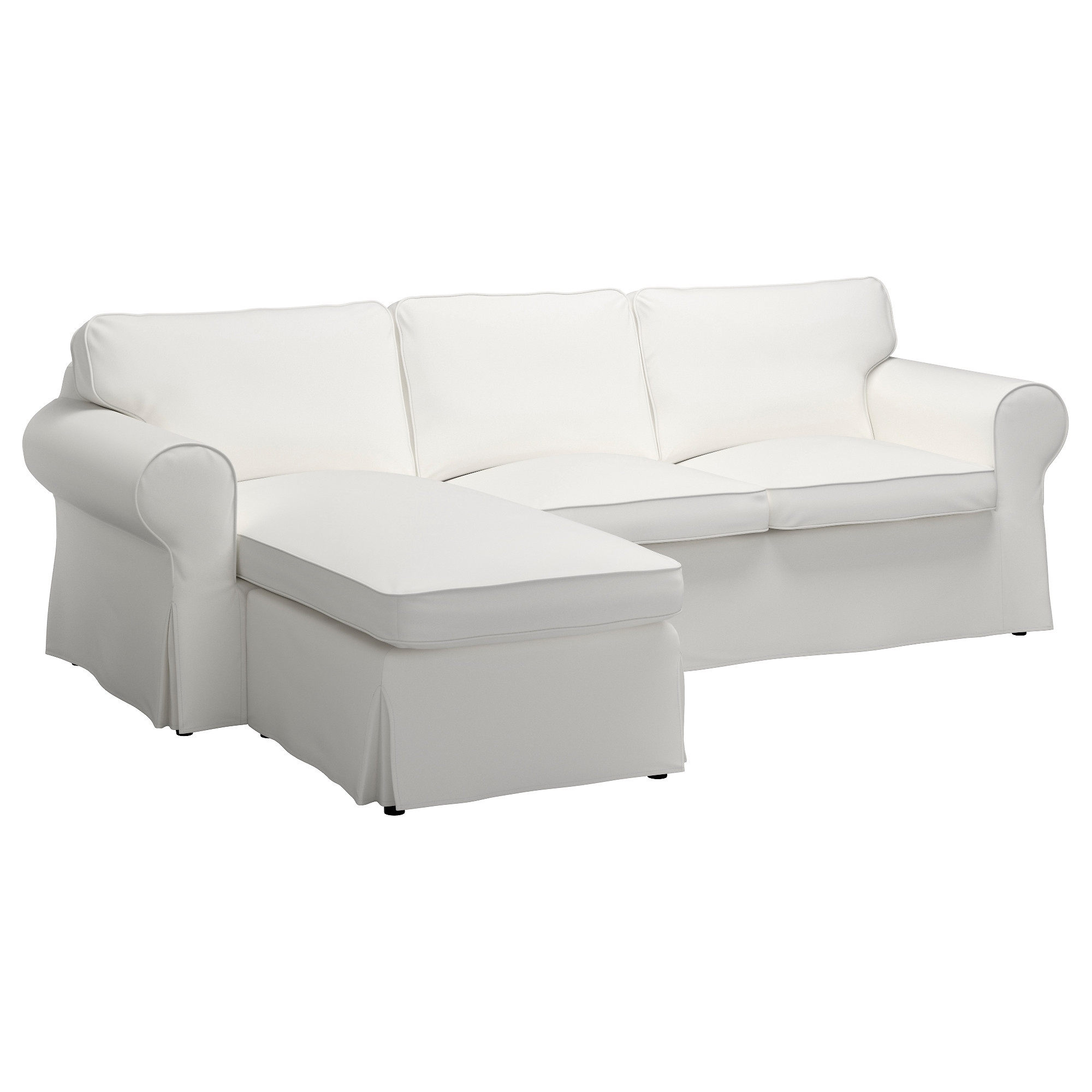 2017 Ektorp Sofa – Vittaryd White – Ikea Pertaining To Ikea Chaise Couches (Gallery 5 of 15)