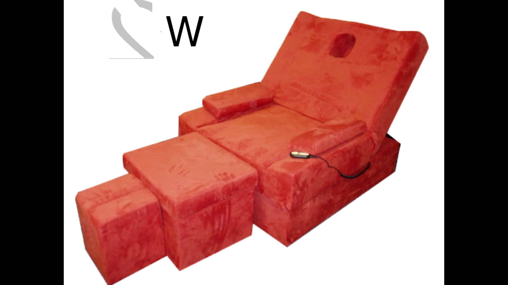 2017 Electric Foot Massage Sofa Set 电动足浴沙发  Youtube Regarding Foot Massage Sofas (View 13 of 15)