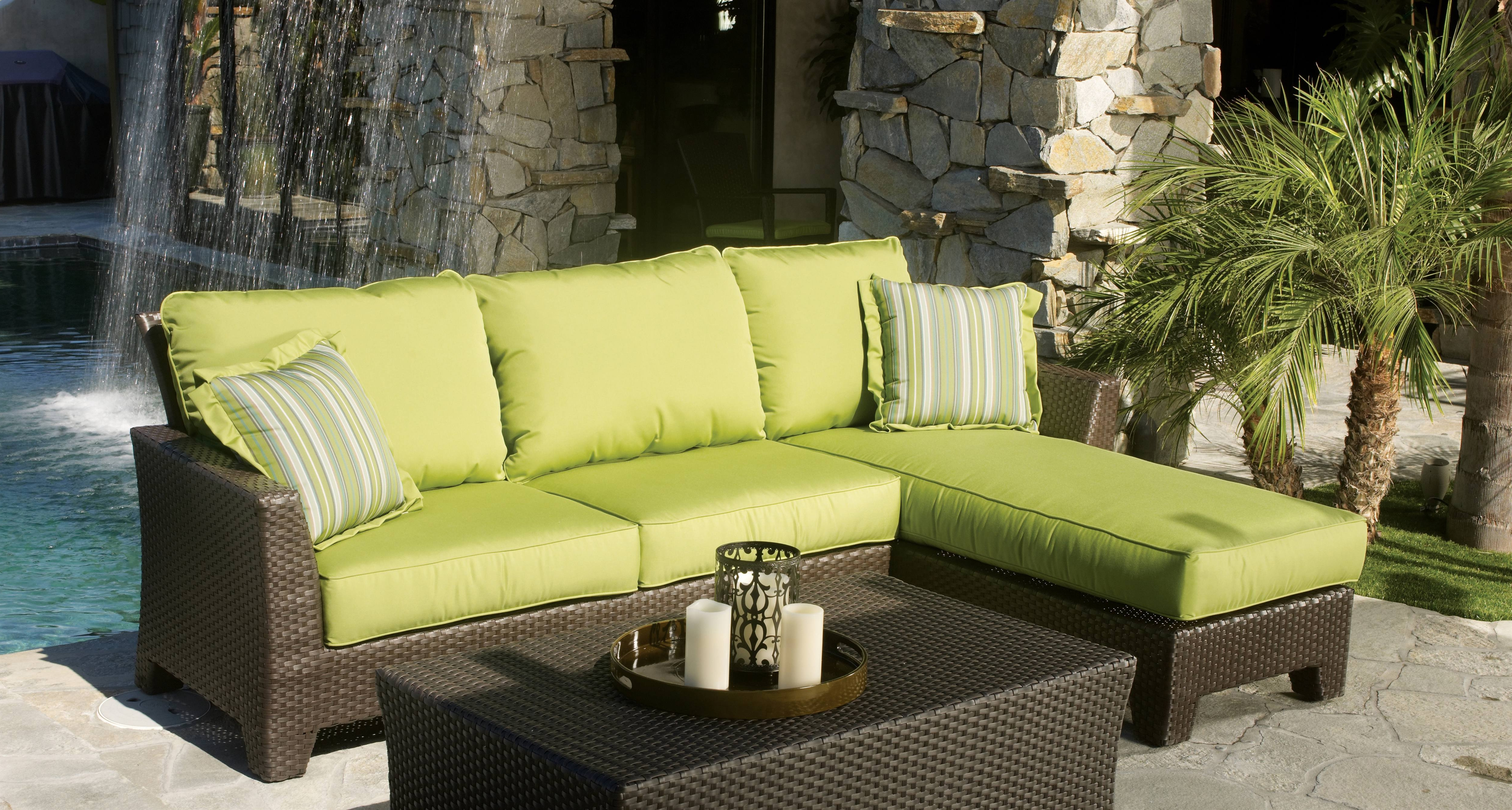 2017 Green Sectional Sofas With Chaise Inside Lime Green Sectional Sofa – Hotelsbacau (View 1 of 15)
