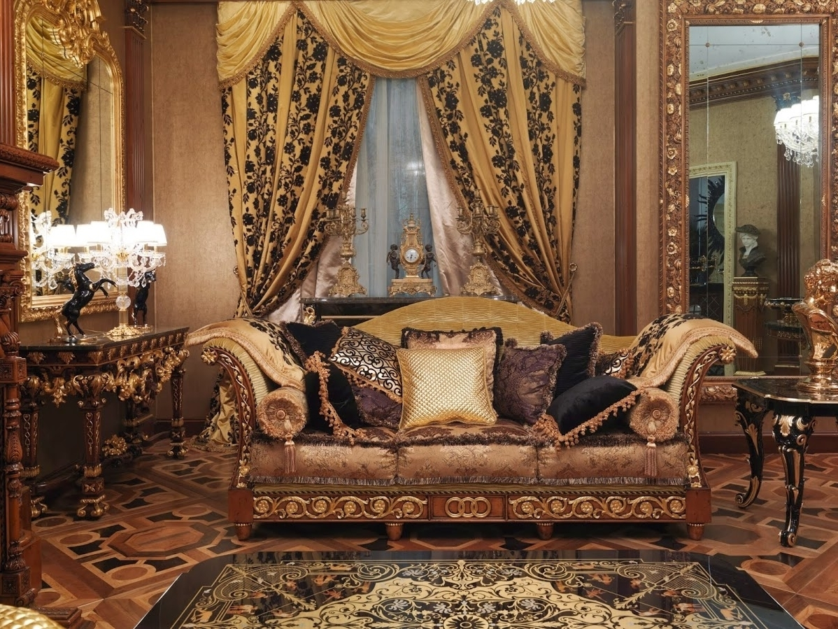 2017 High End Sofas Within 1 Empire Style High End Sofa. Handmade In Europe (View 3 of 15)