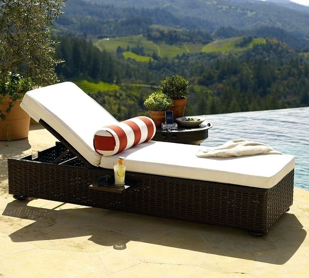 2017 Luxury Outdoor Lounge Chairs • Lounge Chairs Ideas Inside Outdoor Lounge Chaises (View 1 of 15)
