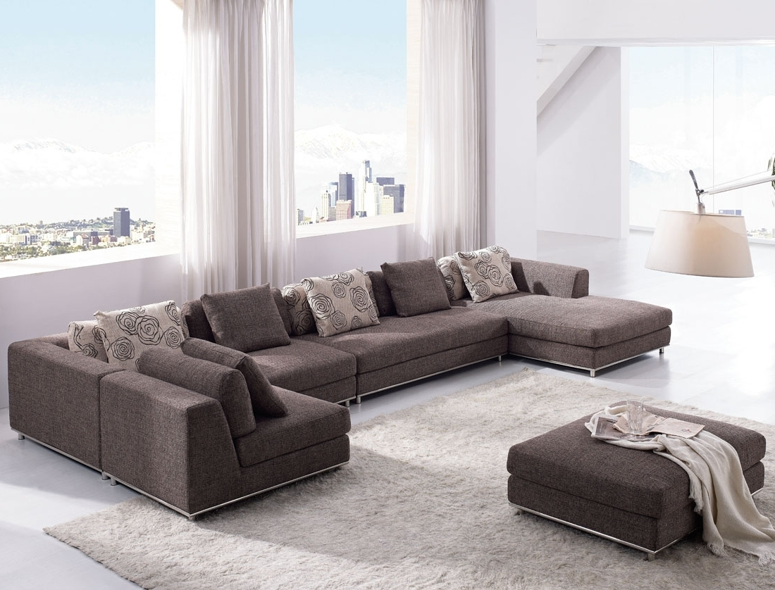2017 Modern U Shaped Sectionals With Regard To The Big Room For U Shaped Sectional Sofas : S3Net – Sectional (View 2 of 15)