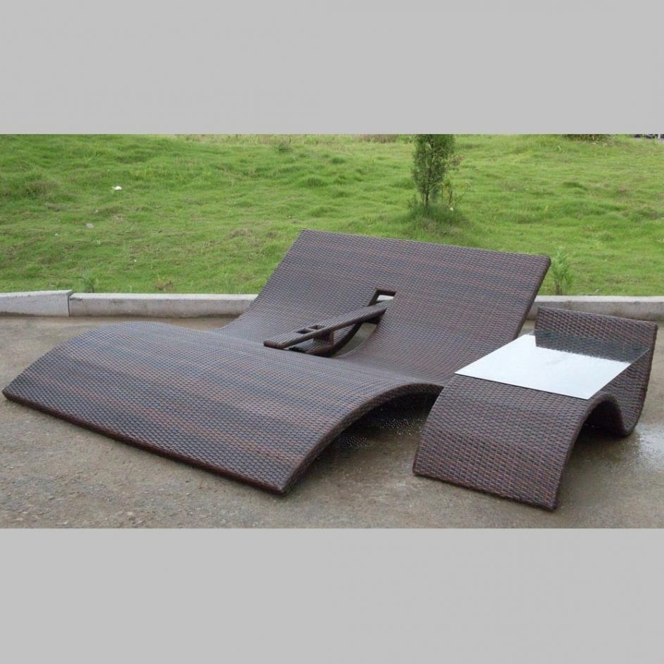 2017 Patio Double Chaise Lounges Intended For Teak Double Chaise Lounge Jcpenney Furniture Lane Furniture (View 6 of 15)