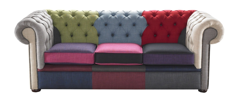 2017 Portabello Interiors Chesterfield 3 Seater Chesterfield Sofa Throughout Chesterfield Sofas (View 5 of 15)