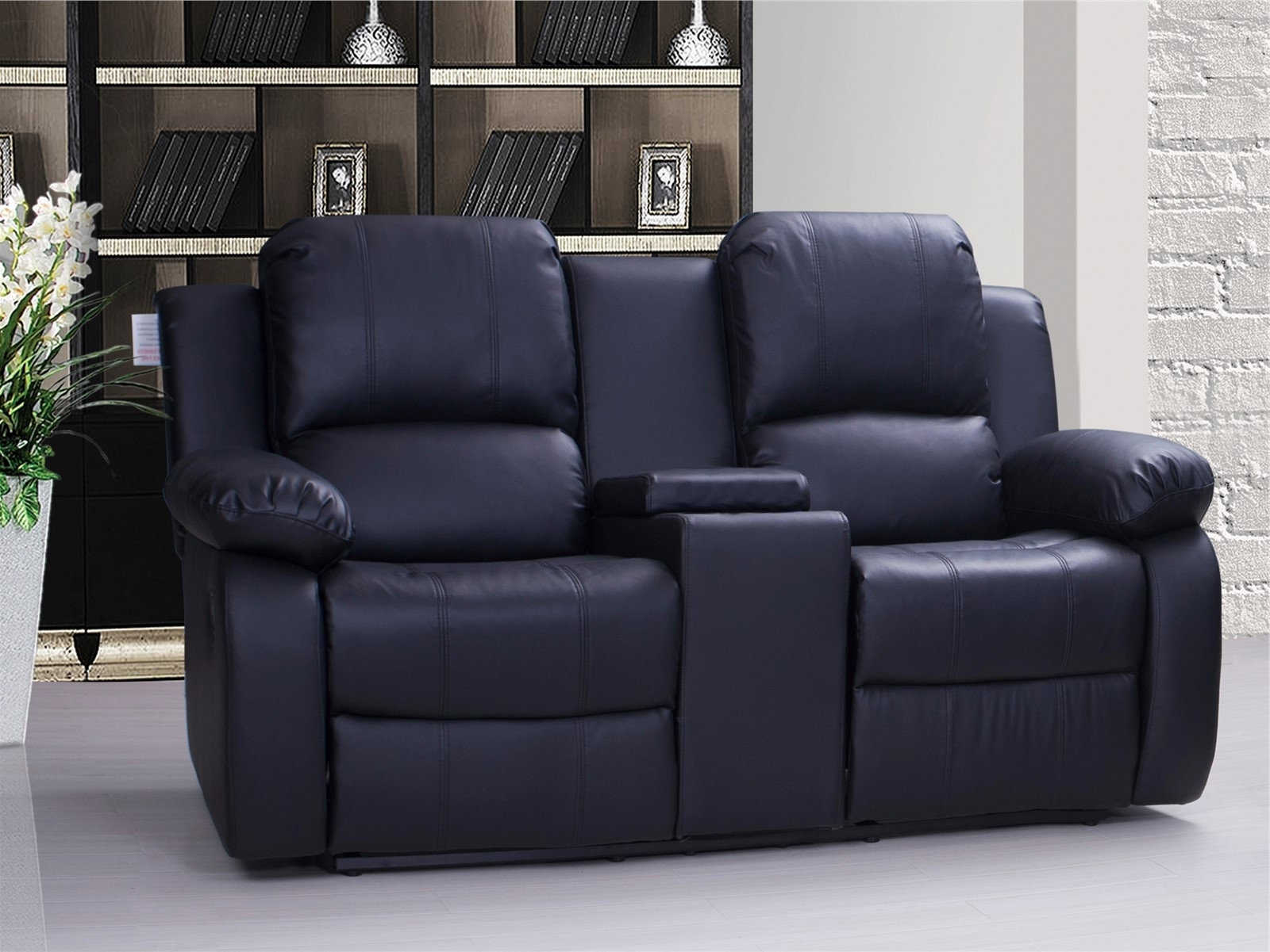 Showing Gallery Of 2 Seater Recliner Leather Sofas View 6 Of 15 Photos