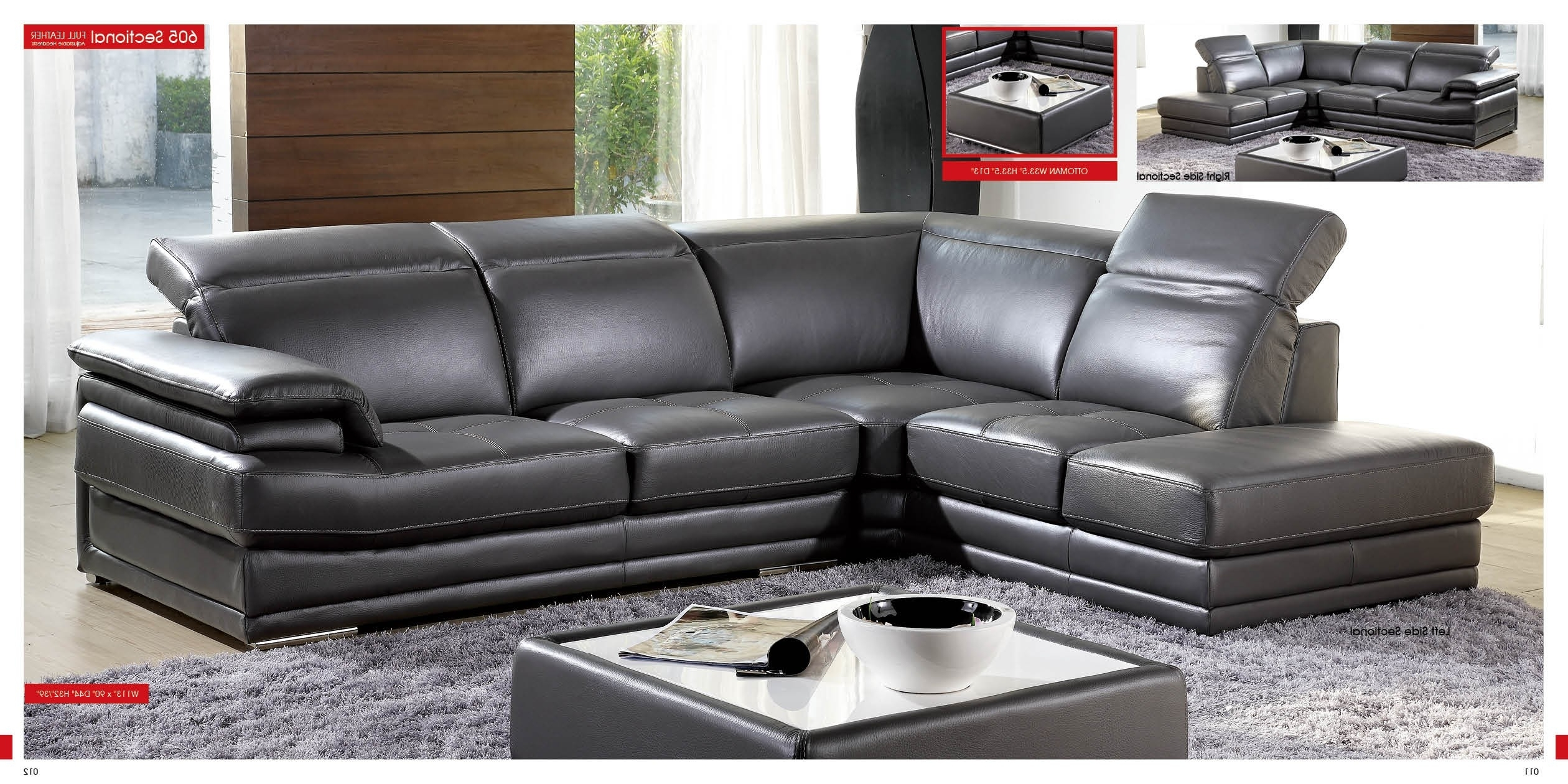 2017 Recliners Chairs & Sofa : Modular Sectional Sofa Leather Couches Inside Leather Modular Sectional Sofas (View 1 of 15)