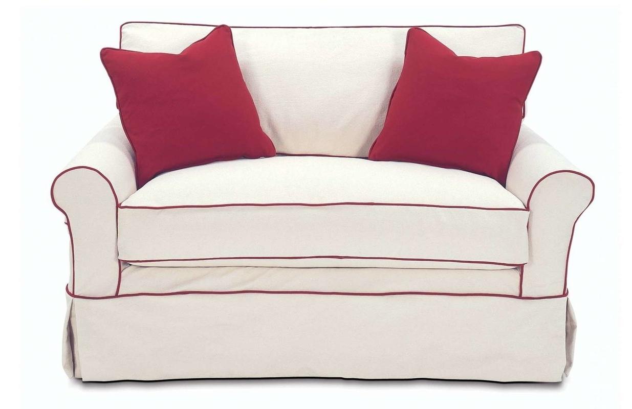 2017 Rowe Furniture Somerset Twin Sleeper Sofa & Reviews (View 10 of 15)