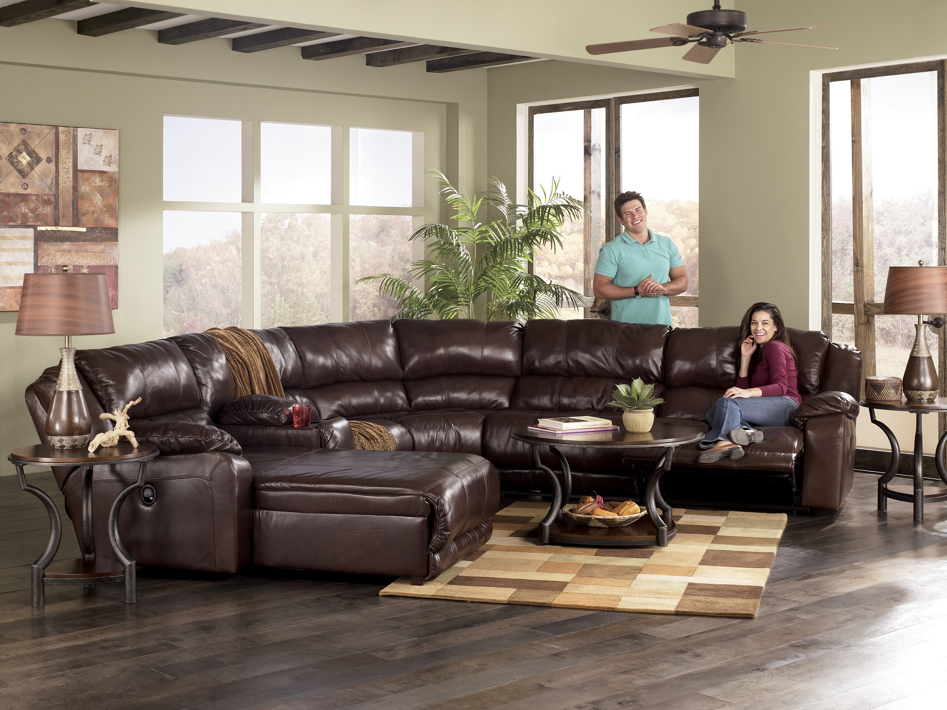 2017 Sectional Sofas Leather Elegant Delighful Couches With Chaise New Intended For Ontario Sectional Sofas (View 1 of 15)