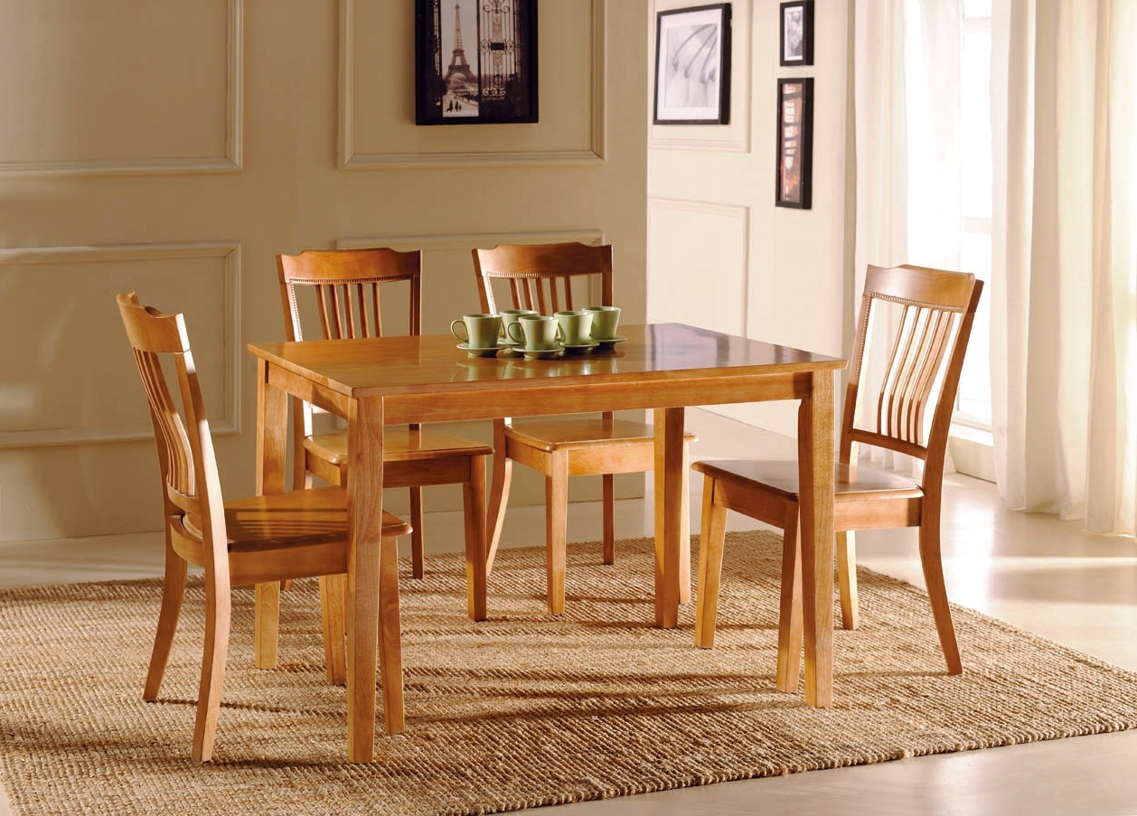 2017 Sofa Chairs With Dining Table Regarding Retro Wooden Dining Table Chair Room Furniture (View 1 of 15)