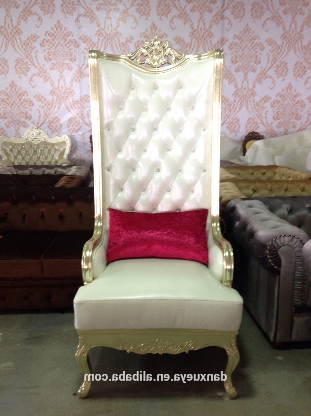 2017 Sofa Pedicure Chairs Inside Danxueya Saloon Chair/turkish Style High Back Used Pedicure Chair (View 1 of 15)