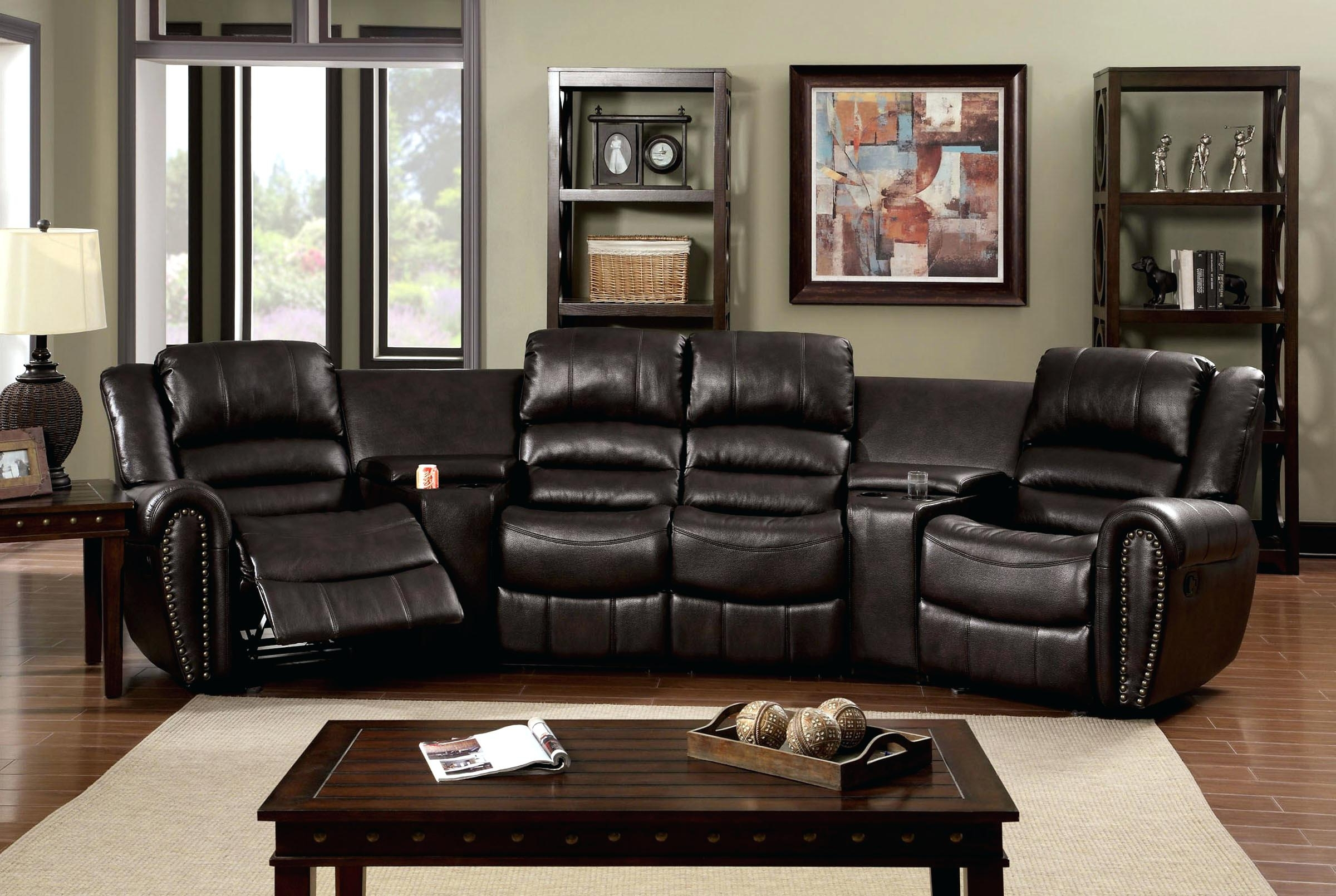 2017 Theatre Sectional Sofas Pertaining To Home Theater Seating Sectionals Home Theater Sectional Sofa Home (View 1 of 15)