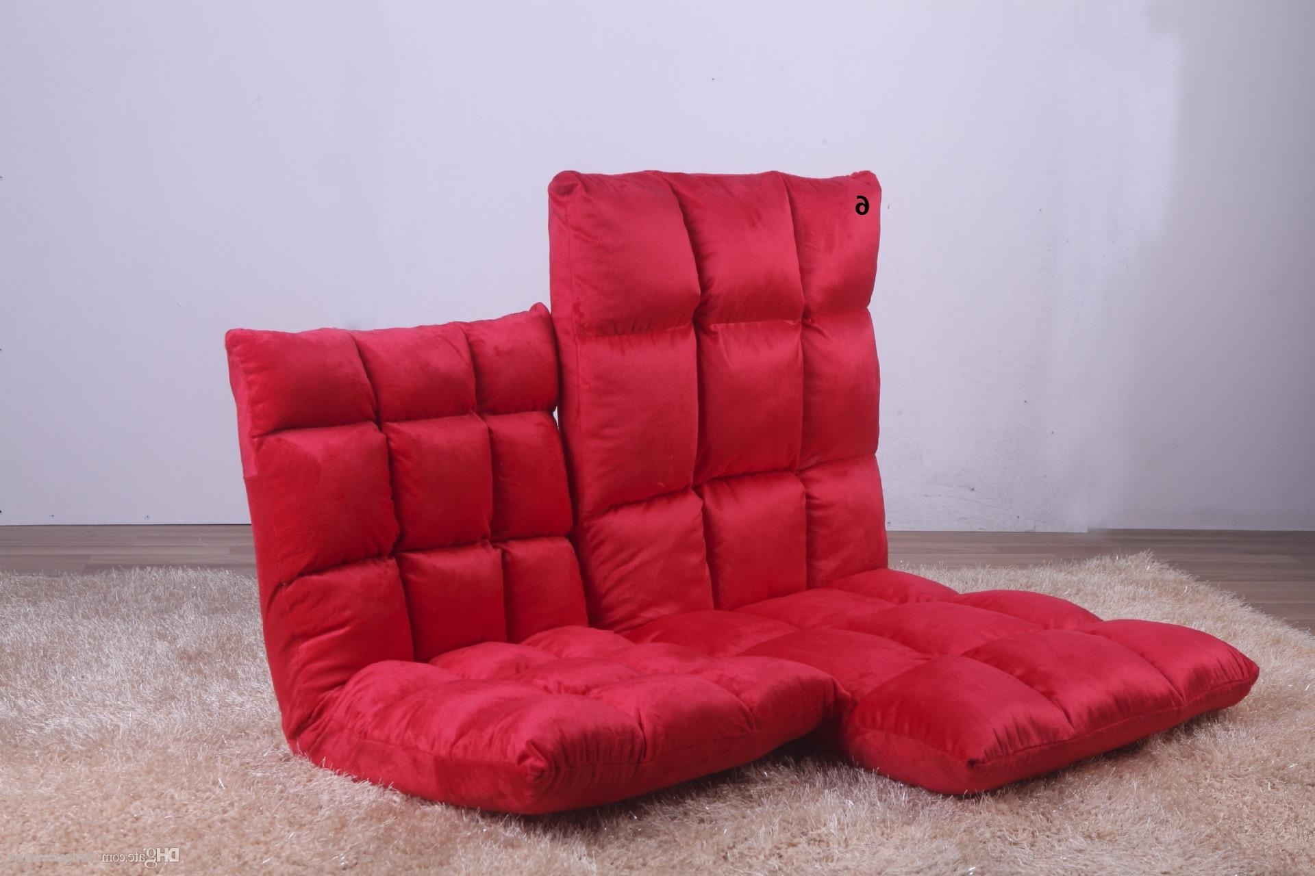 2018 6 Gears Lazy Sofa Couch Couch Rice Small Single Sofa Chair Intended For Trendy Lazy Sofa Chairs (View 4 of 15)