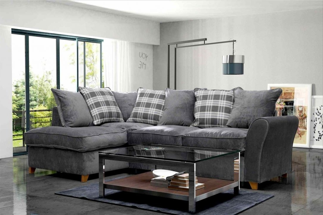2018 64 Great Startling Dark Gray Sectional Couches Lifestyle Grey Sofa In Florence Large Sofas (View 1 of 15)