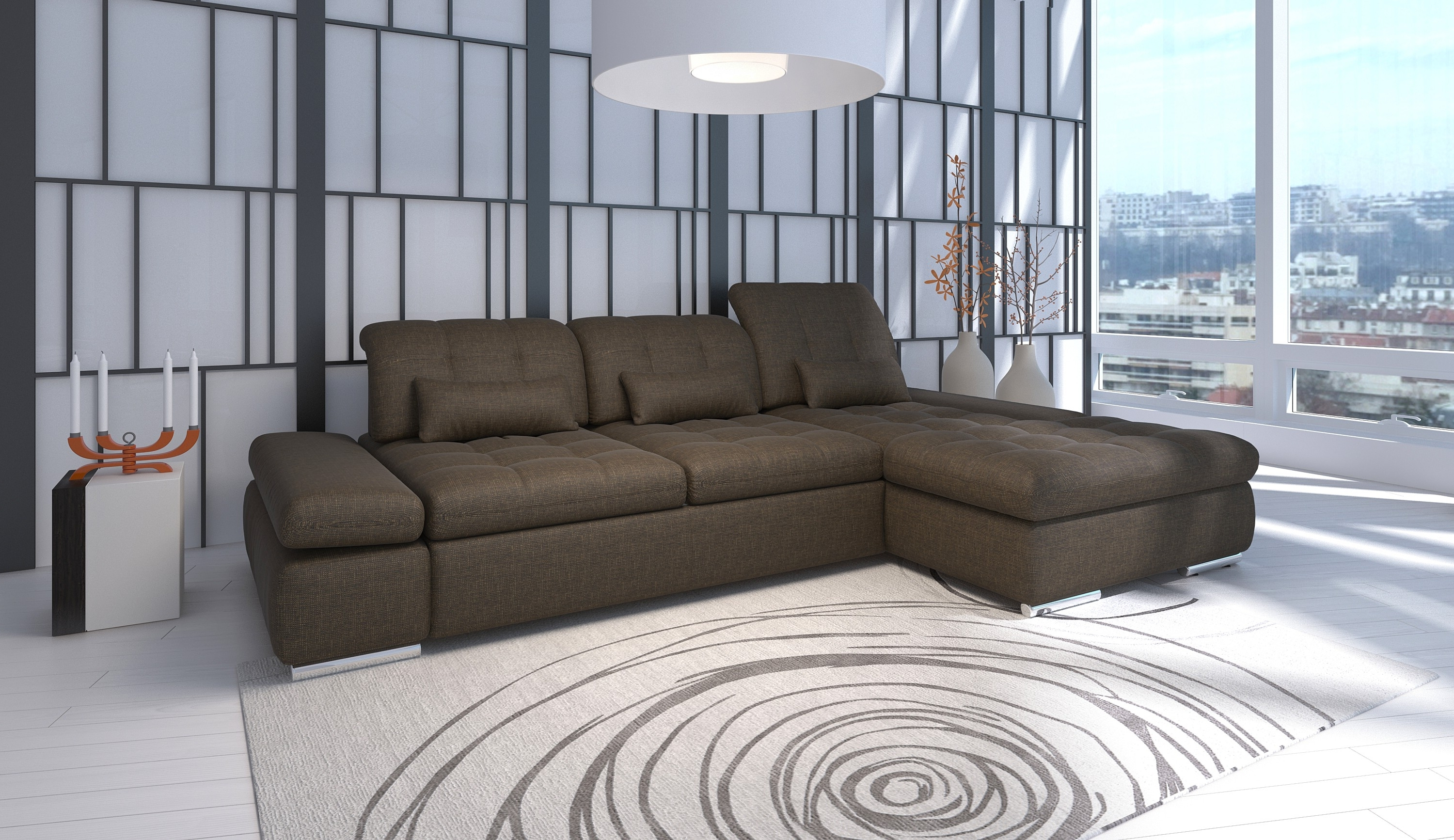 2018 Alpine Sectional Sofa In Trinidad And Tobago Sectional Sofas (View 1 of 15)