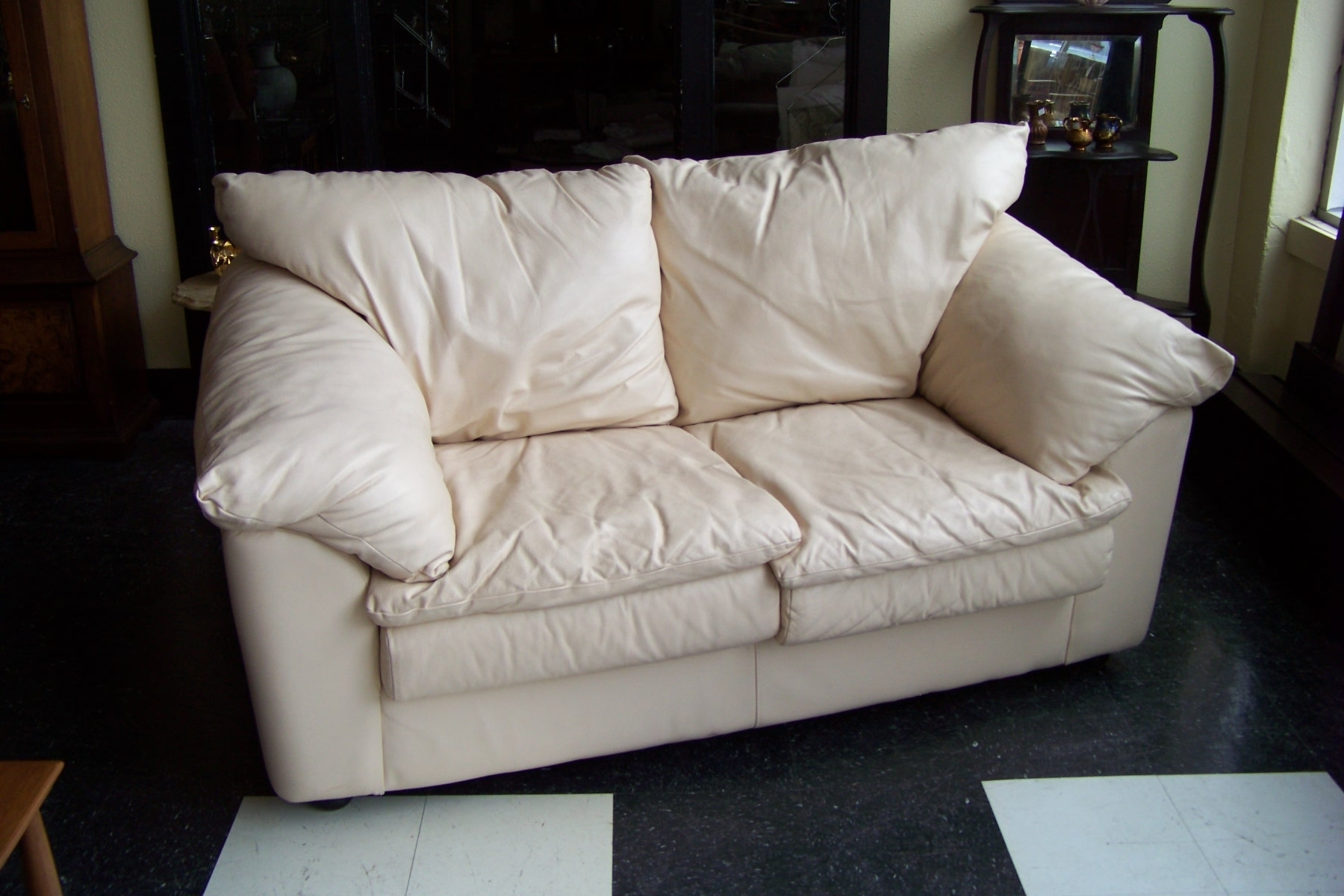 2018 Articles With Cream Colored Leather Sofa Set Tag Couch Camel Regarding Cream Colored Sofas (View 7 of 15)