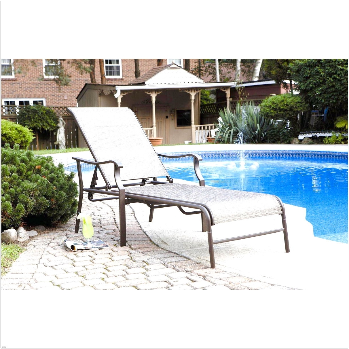 2018 Chaise Lounge Chairs Under $100 In Patio Chaise Lounge Chairs Under $100 Design Ideas – 2018 Lighting (View 12 of 15)