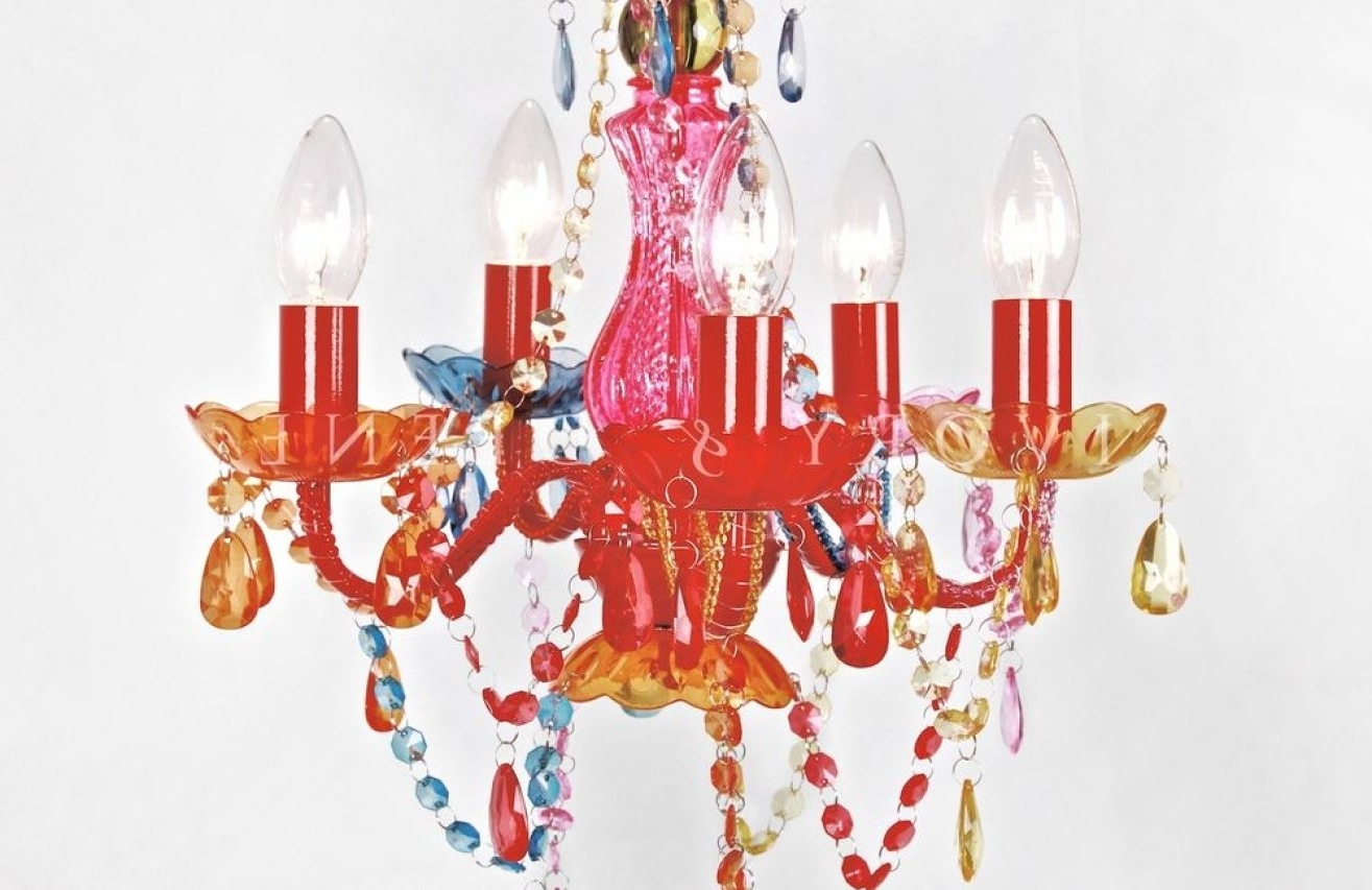 2018 Chandeliers Design : Fabulous Coloured Chandeliers Stunning Light Pertaining To Coloured Chandeliers (View 12 of 15)