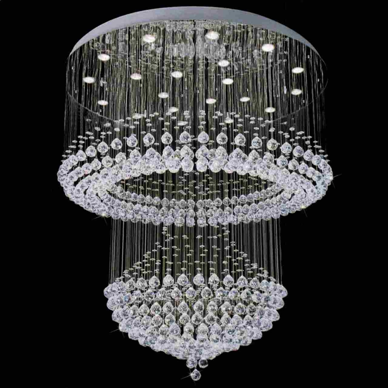 2018 Crystal Chandeliers Regarding Brizzo Lighting Stores (View 9 of 15)