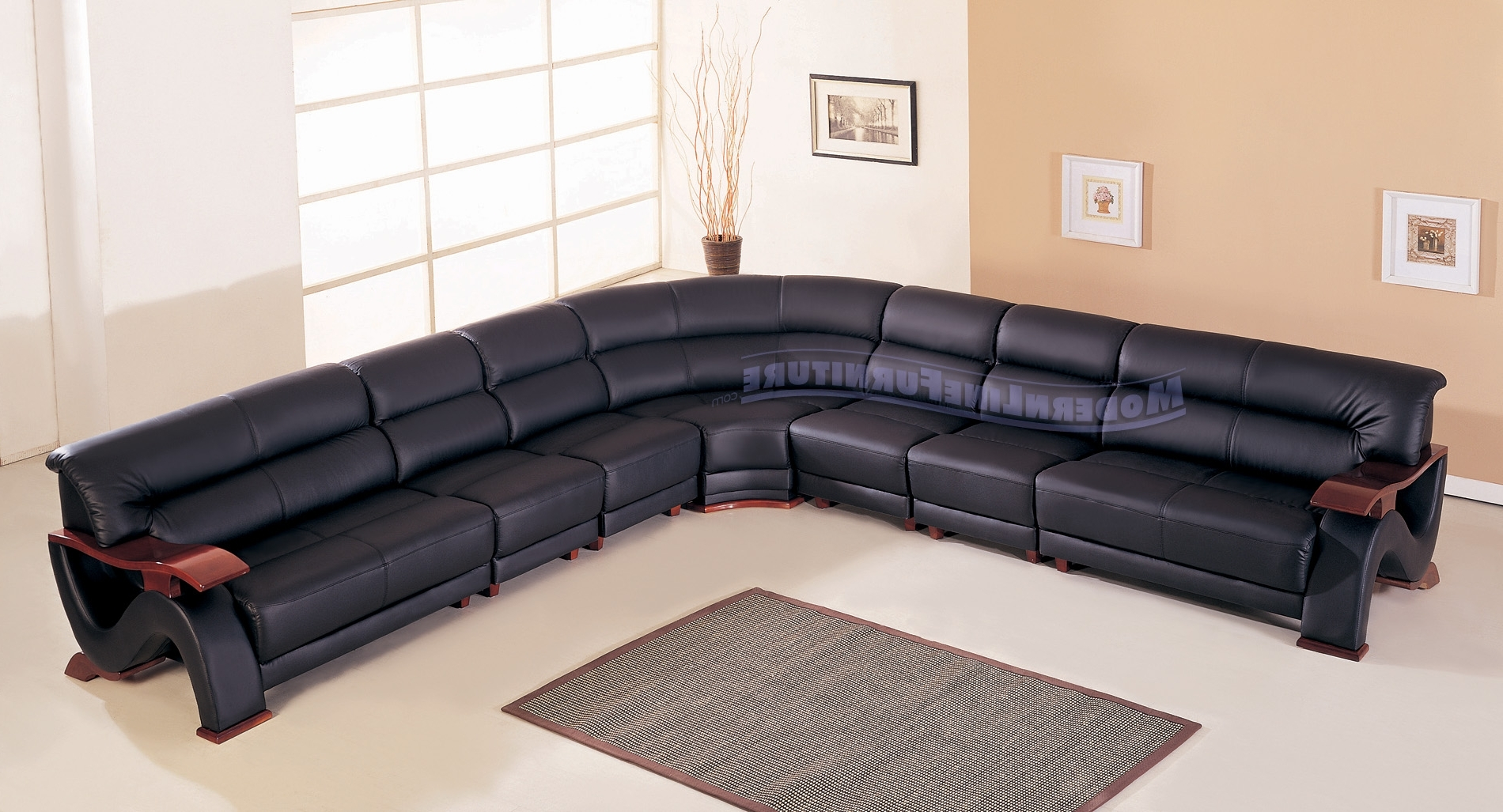 2018 Deep Seating Sectional Sofas Inside Sofa : 120 Inch Sectional Sofa With Chaise U Shaped Sectional Deep (View 2 of 15)