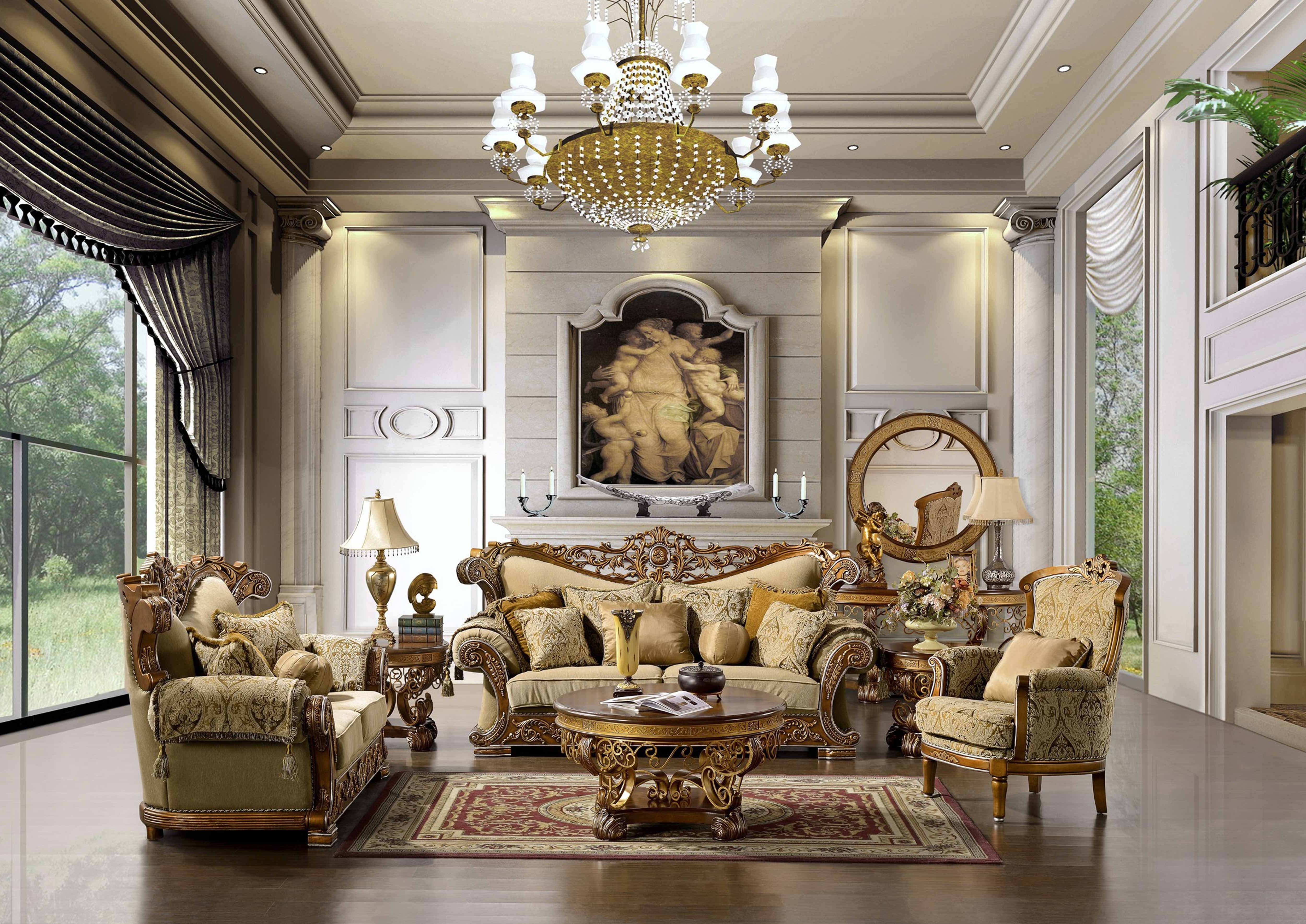 2018 Elegant Sofas And Chairs Pertaining To The Space Is Big And Has A Luxurious And Elegant Shapes And Large (View 2 of 15)