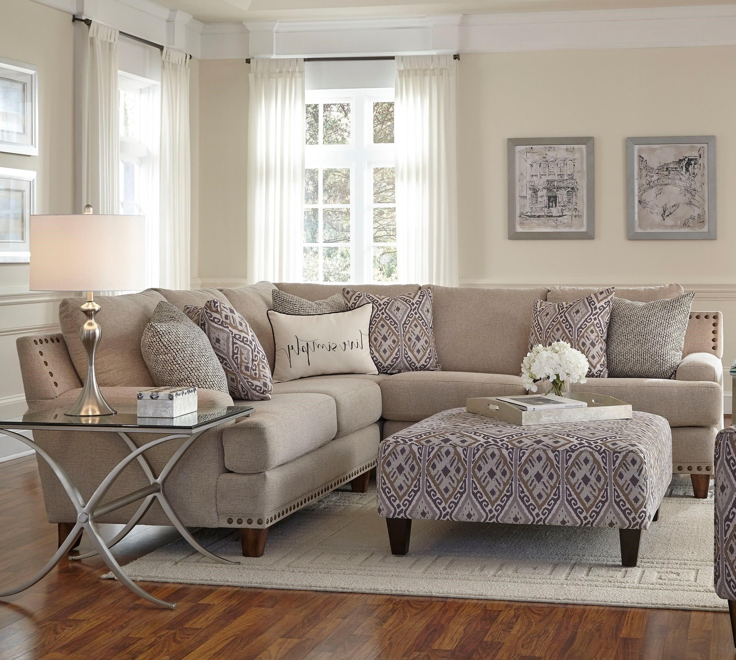 2018 Franklin Julienne Sectional Sofa With Four Seats – Miskelly Inside Jackson Ms Sectional Sofas (Gallery 8 of 15)