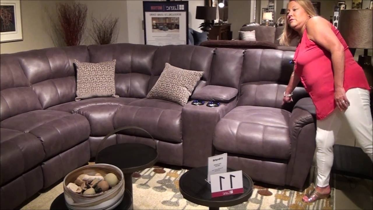 2018 Grand Furniture Sectional Sofas In Power Reclining Grand Torino Sectionallane Furniture – Youtube (View 3 of 15)