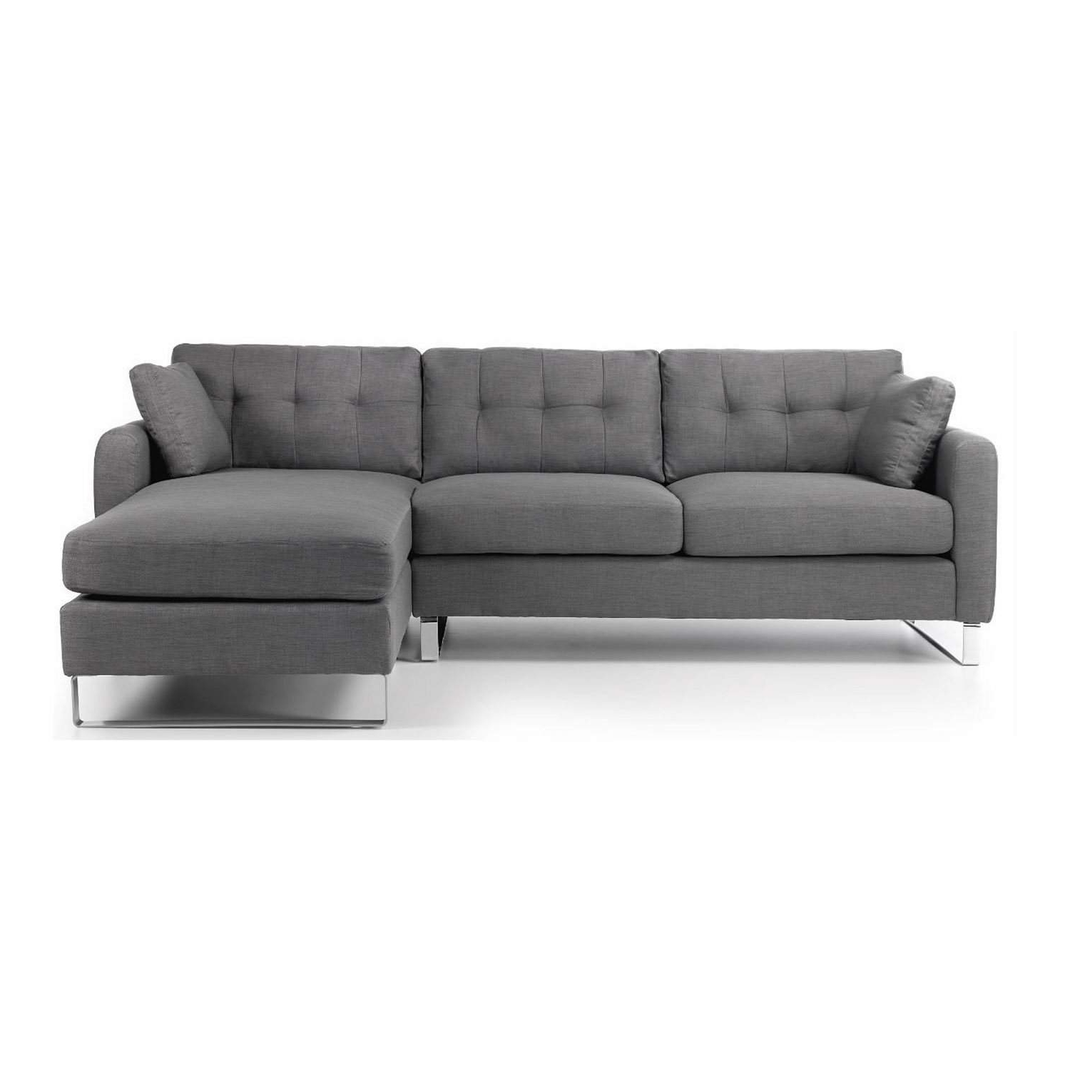 2018 Grey Chaise Sofas Intended For 37 Most Superb Grey Chaise Sofa Or Ekornes Stressless Plus Rustic (View 2 of 15)